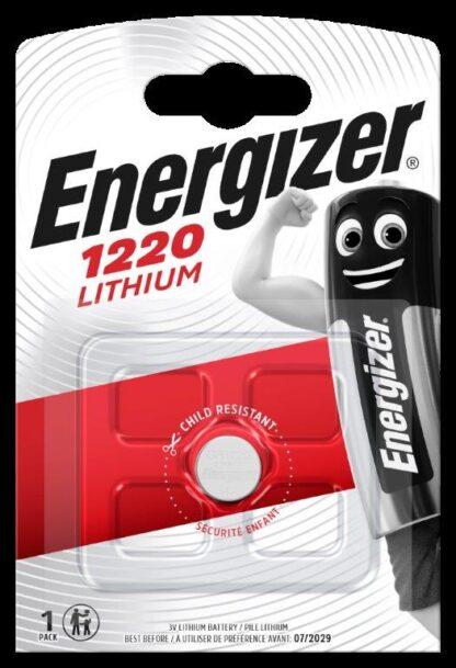 Energizer CR 1220 Lithium 3.0V     FSB-1