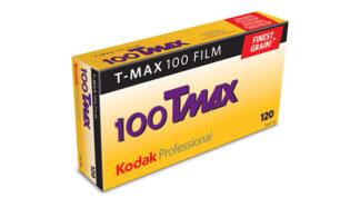 Kodak T-MAX 100  TMX 120         5-Pack