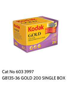 Kodak GOLD 200  GB 135-36