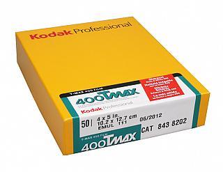 Kodak T-MAX 400  TMY 4x5     50-Pack
