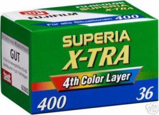 Fujifilm Superia 400 X-TRA 135-36