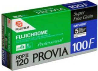 Fujifilm PROVIA 100F RDPIII  120 5-Pack