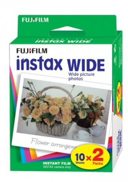 Fujifilm Instax Color TWIN 2 x 10 photos