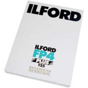 Ilford FP 4  Plus 125  4x5      25-Pack