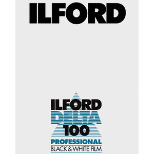 Ilford Delta 100  4x5           25-Pack