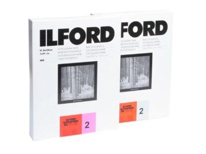 Ilford RC Deluxe 3-44M 17,8X24cm   25