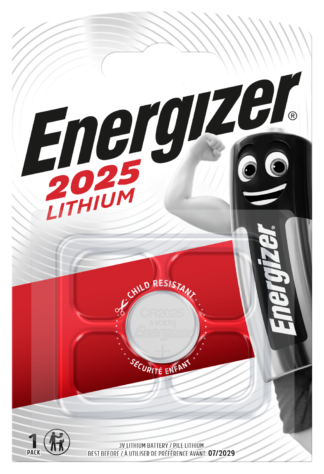 Energizer CR 2025 Lithium 3.0V     FSB-1