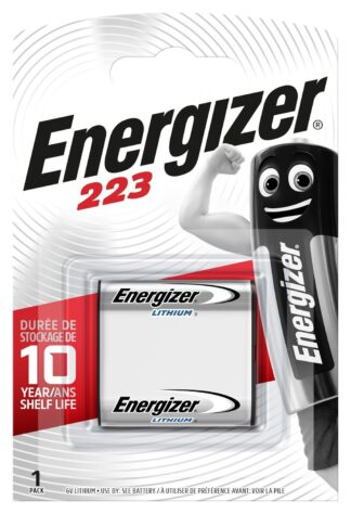 Energizer 223 Lithium       6.0V