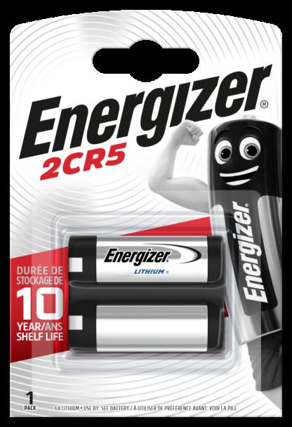 Energizer 2CR5 Lithium      6.0V