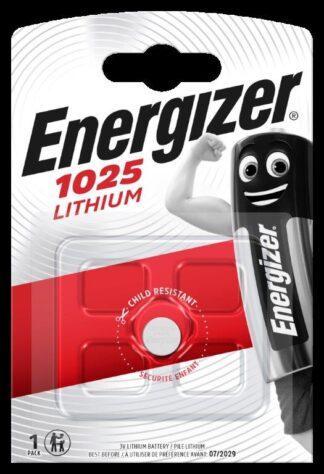 Energizer CR 1025 Lithium 3.0V     FSB-1