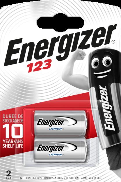 Energizer 123 Lithium      3.0V (2-Pack)