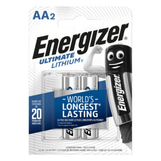 Energizer AA/L91 Ultimate Lithium 2-Pack