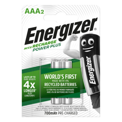 Energizer Akku Power Plus AAA 700mAh BP2
