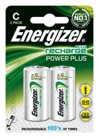 Energizer Akku Power Plus C 2500mAh  BP2