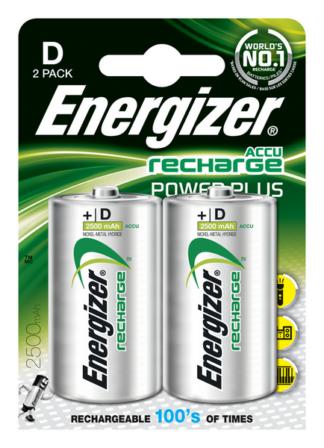 Energizer Akku Power Plus D 2500mAh  BP2