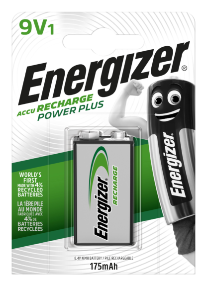 Energizer Akku Power Plus 9V  175mAh BP1