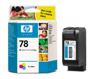 HP Nr. 78  farbe, couleur CMY, 19ml