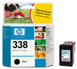 HP Nr. 338 schwarz, noir