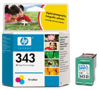 HP Nr. 343 farbe, couleur CMY