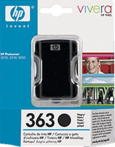 HP Nr. 363 black ink (small)