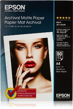 Epson Archival Matte A4,189g/m2, 50 pcs