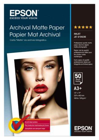 Epson Archival Matte A3+ 189g/m2, 50 pcs