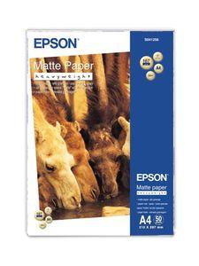 Epson Matte Paper A4  167g/m2, 50 sheets