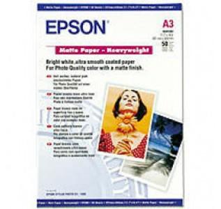 Epson Matte Paper A3  167g/m2, 50 sheets