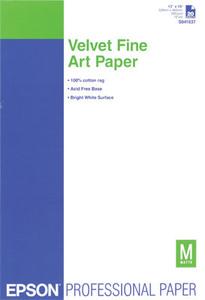 Epson Velvet FineArt Paper A3+