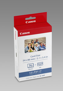 Canon KC-36IP 36 sheets 54x86mm