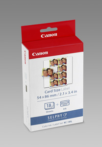 Canon KC-18IL Sticker 22x17.3mm 18sheet