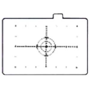 Canon Mattscheibe EC-H mit Messteilung