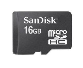 Sandisk microSD 16GB Class 4