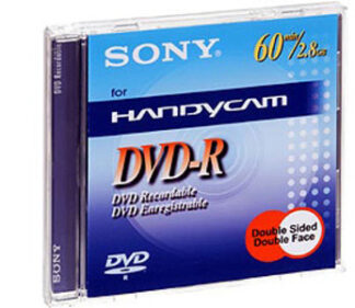 Sony DVD-R      8cm / 60 min
