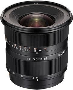 Sony A-Mount APSC 11-18mm F4.5-5.6 DT