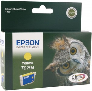Epson Claria Ink T0794 yellow