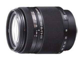 Sony A-Mount APSC 18-250mm F3.5-6.3