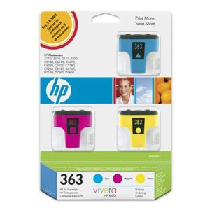 HP Nr. 363 Ink CMY, 3er Pack