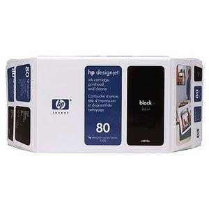 HP Nr. 80 Ink black 350ml