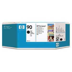 HP Nr. 90 Ink black 400ml
