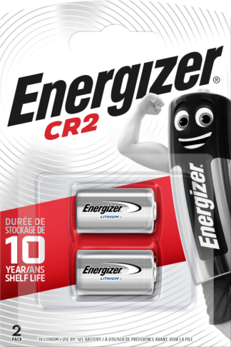 Energizer CR2 Lithium      3.0V (2-Pack)