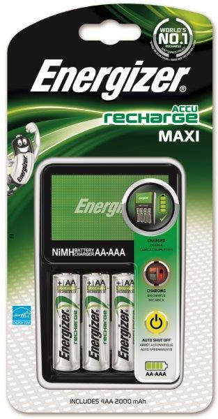 Energizer Maxi Charger inkl. 4 AA