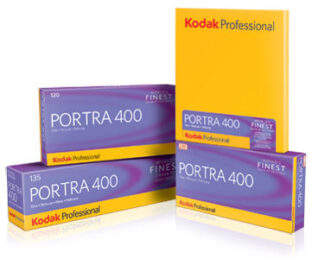 Kodak Portra 400 4 x 5  10 sheet