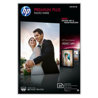 HP Photo Paper 10x15 Premium Plus