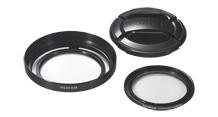 Fuji X20 Lens Hood + Filter Kit Black