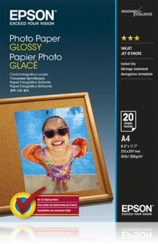 Epson Photo Paper Glossy,  A4, 200g/m2