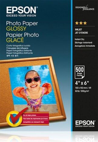 Epson Photo Pap. Glossy  10x15, 200g/m2