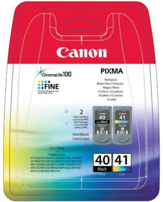 Canon PG-40BK & CL-41COL Multipack