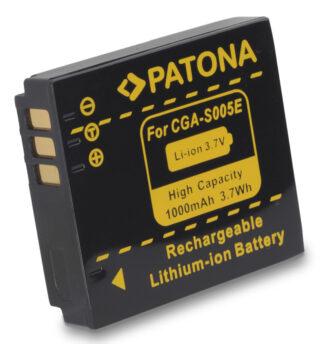 Patona Akku  f. Panasonic CGA-S005E