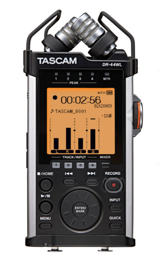 Tascam DR-44WL 4 Track Handheld Rec.